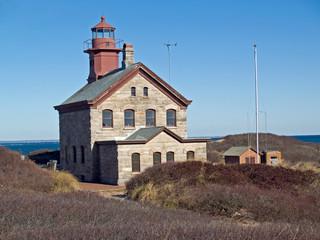 Historic North Light on Block Island, RI
