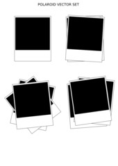 Polaroid Vector Set