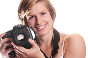 Jeune femme photographe 5