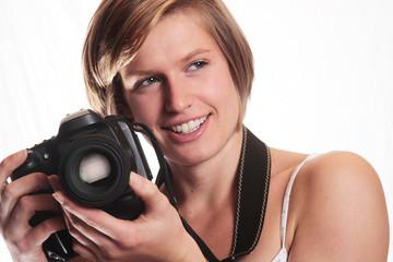 Jeune femme photographe 6
