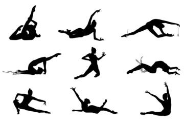 Gymnastique rythmique poses SR