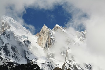 High Himalayan mountain