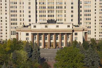 Main enter of Moscow University