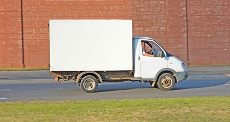 "American truck  of ""Trucks"" series in my portfolio"