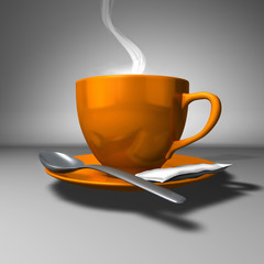 Perfect Steamy Coffee