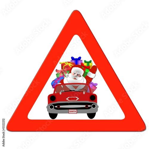 Achtung Weihnachtsmann Auto Stockfotos Und Lizenzfreie Bilder Auf