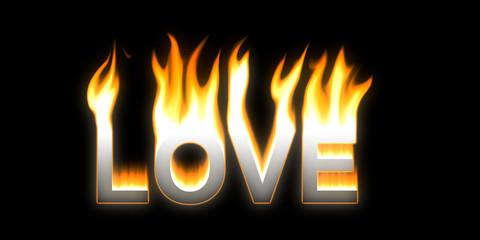 LOVE! Flaming LOVE