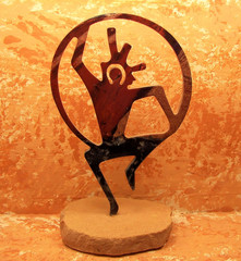 southwestern hoop dancer sculpture