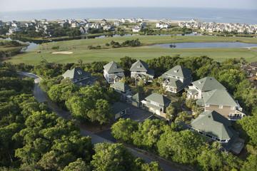 Coastal homes.