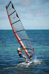 Lady Windsurfer