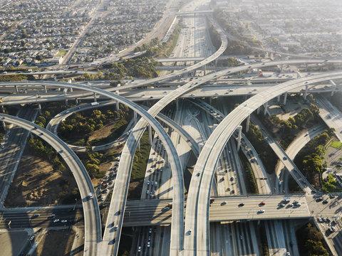 Highway interchange.