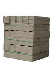 Cinder blocks ( concrete masonry units )