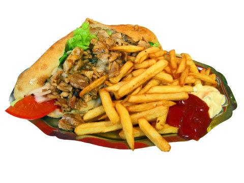 asiette sandwich
