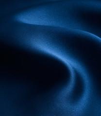 elegant and smooth blue satin background