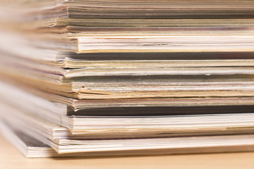magazines - macro