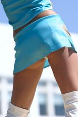 dance in short skirt