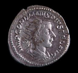 Roman Silver Coin - Gordian