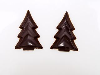 schokoladen tannenbäume