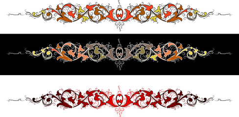Color Baroque.  All Curves Separately.