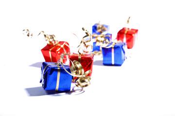des cadeaux de noël, image de fête et de cadeau