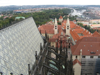 Prague Saint Vitus Cathedral and St. George's Basilica