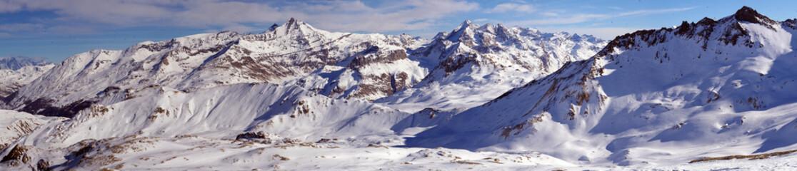 La Vanoise sous la neige