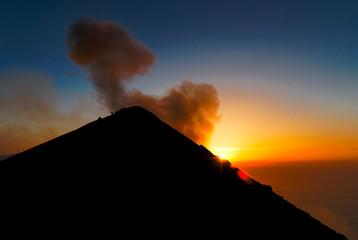 Aufstieg auf den Stromboli-Vulkan