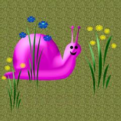smiling snail