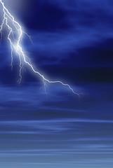 tormenta en vertical