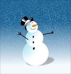 Snowman Pupazzo di neve
