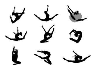 Gymnastique rythmique Sauts