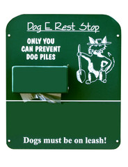 Dog E Rest Stop Sign
