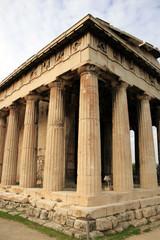 Athens, Greece - Thiseio, temple of Hephaestous