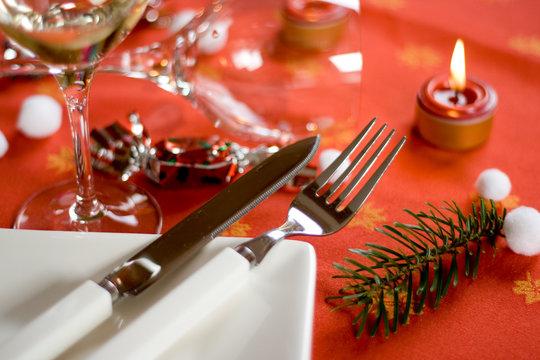Table de noel gastronomique