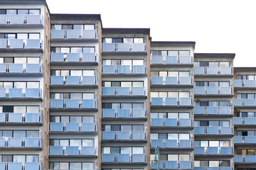stepped apartments