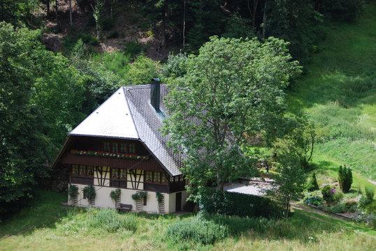 Typisches Schwarzwaldhaus