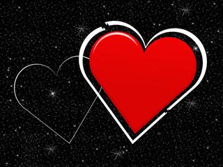 Sternehimmel in Love