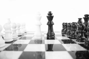 chess - kings head to head