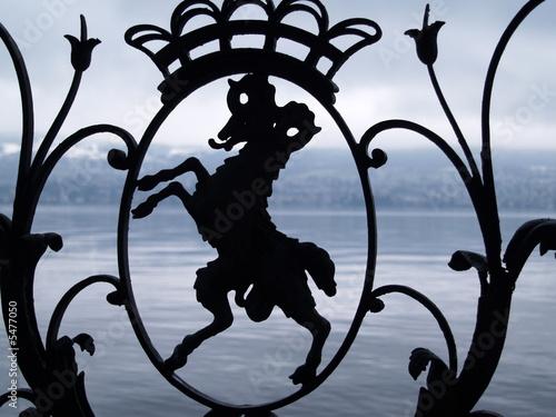Fen tre en fer forg stock photo and royalty free images for Fenetre en fer forge