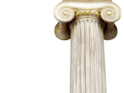 marble column