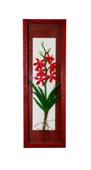 orchid picture frame