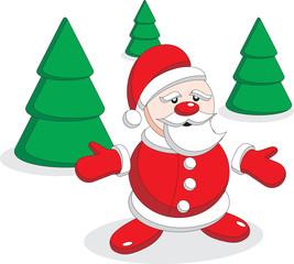 Santa Claus has lost gifts