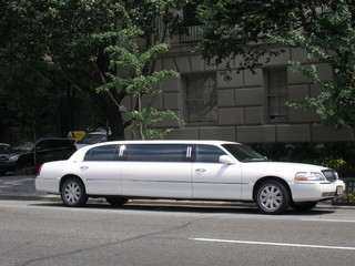 stretch limousine in new york