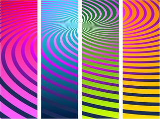spirale vectorielle
