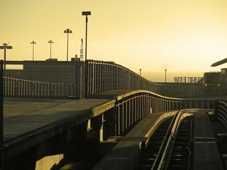 Sunrise at SFO