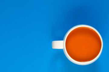 A cup of tomato soup