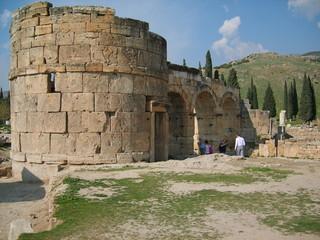 Nécropole d'Hiérapolis en Turquie
