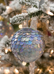 Silver Plate Christmas Ornament