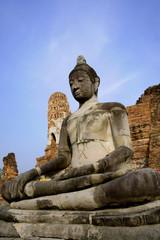 buddah in ayutthaya