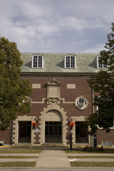 University of Illinois in Champaign - Huff Hall.
